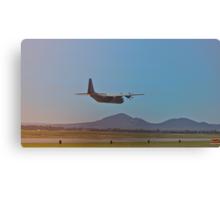 C130J Hercules False Landing Canvas Print