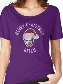Merry Christmas. Bitch. Women's Relaxed Fit T-Shirt