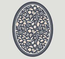 Pattern of Flowers in Frame Unisex T-Shirt
