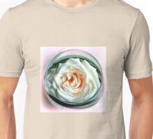White Rose in Glass Unisex T-Shirt