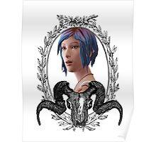 Chloe Portrait (Transparent) - Life is Strange Poster