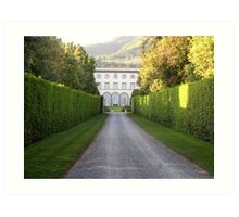 Villa Grabau, Tuscany Art Print
