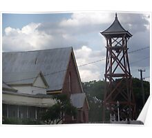 Charters Towers Baptist Church (former Church of Christ and Baptist Church) Poster