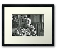 The Great Lamington Challenger - Red Bubble Rumble Junee Framed Print