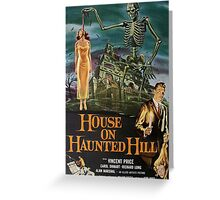 House on Haunted Hill Greeting Card