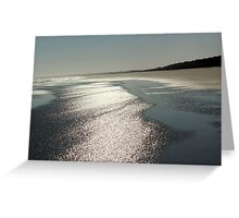 Kiawah Beach in the Spring Greeting Card