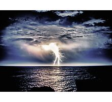Heavy Weight Lightning Photographic Print