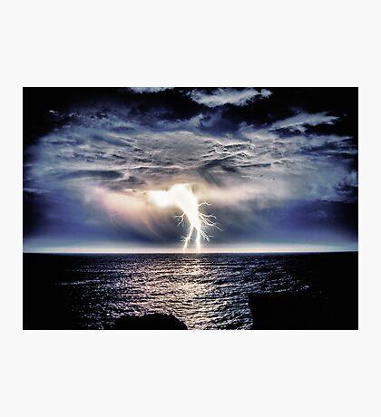 Heavy Weight Lightning Photographic Print