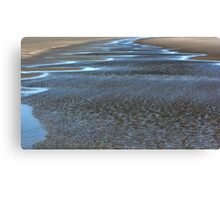Beach Blues Canvas Print