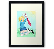 Adventure Time - Fiona Framed Print