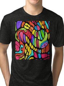 Poly Swirls Tri-blend T-Shirt