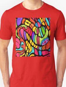 Poly Swirls Unisex T-Shirt