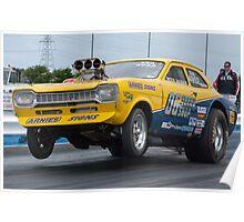 Dragster (Ford Mk1 Escort) Poster