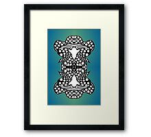 """Heavy Ink; Ambigram Dreams"" by Upside-Down Artist, Topsy Turvy Artist, Upsidedownism Artist, Ambigram Aritst  or Masg artist L. R. Emerson II Framed Print"