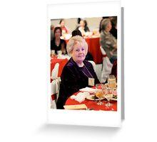 Christmas Luncheon Greeting Card