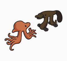 Octopi VS Platypi Kids Tee