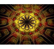 Golden Bloom Photographic Print