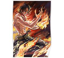Ace - One Piece - Artwork Poster
