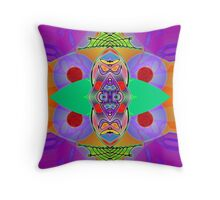 """Peter Max & the Day Glo Dream"" is an Upside-Down Art, Masg Art, Upsidedownism, Ambigram Art or Upside-Down Drawing by Upside-Down Artist, L. R. Emerson II  Throw Pillow"