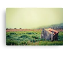 Crater Shack Canvas Print