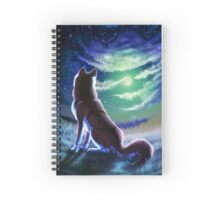 Lonesome Night Spiral Notebook