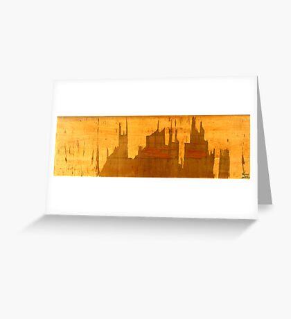 Superhero City Greeting Card