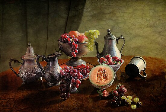 Fruit Feast  by Irene  Burdell