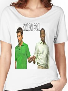 "Psych ""C'mon Son""  Women's Relaxed Fit T-Shirt"