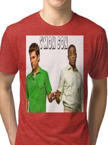 "Psych ""C'mon Son""  Tri-blend T-Shirt"