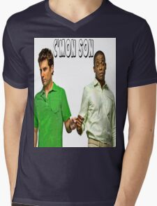 "Psych ""C'mon Son""  Mens V-Neck T-Shirt"