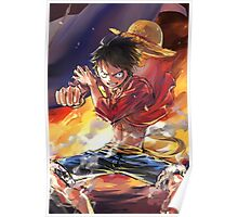 Monkey D. Luffy - One Piece - Artwork Poster