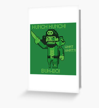 The mighty Pirate Virus!! Greeting Card