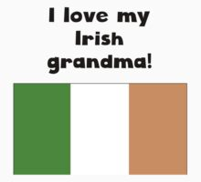 I Love My Irish Grandma Kids Tee