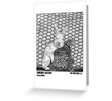 SHOEBOX GALLERY: Easter Bunny Greeting Card