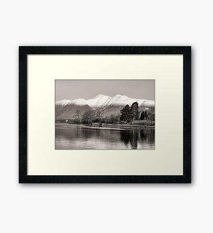 Derwentwater Lake District Framed Print