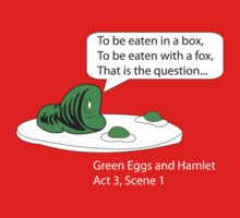 Green Eggs and Hamlet Kids Tee