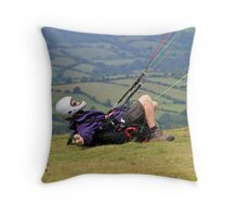 Laid-back! Throw Pillow
