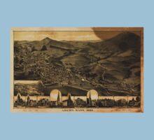 Panoramic Maps Adams Mass1882 Kids Tee