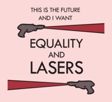 Equality and Lasers One Piece - Long Sleeve