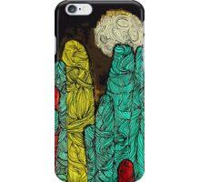 yarn stalagmites iPhone Case/Skin