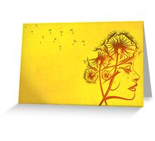 Fleeting Thoughts Greeting Card