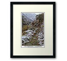 val gronda Framed Print