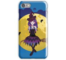 Witch and Full Moon iPhone Case/Skin