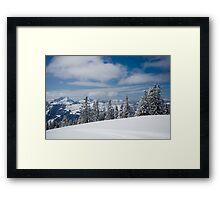 Austrian snow Framed Print