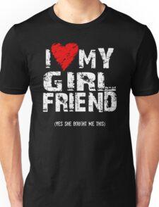 I Love Heart My Girlfriend Unisex T-Shirt