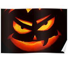Pumpkin face Poster