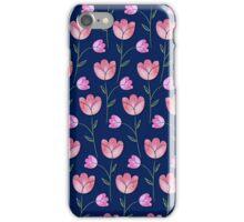 Vintage Watercolour Flowers iPhone Case/Skin