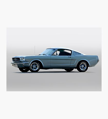 1965 Ford Mustang Fastback 'Show Pony' Photographic Print