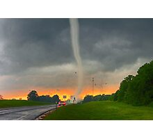 The Shawnee, Oklahoma Tornado Photographic Print