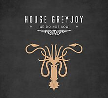 House Greyjoy iPhone Case by liquidsouldes